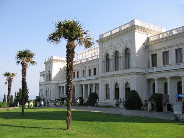 ливадийский дворец крым ливадия