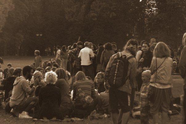 Царицыно, 1 сентября, Хиппи